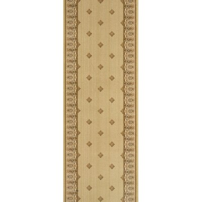 Sangaria Gold Area Rug Rug Size: Runner 27 x 8