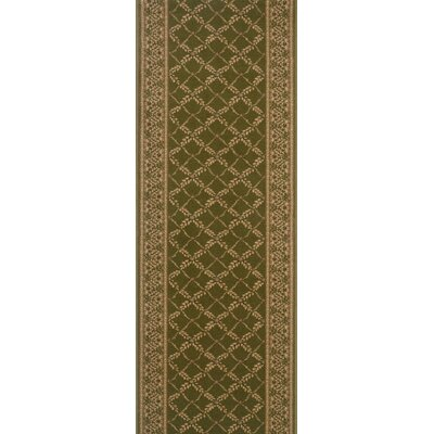 Sangrur Green Area Rug Rug Size: Runner 27 x 8
