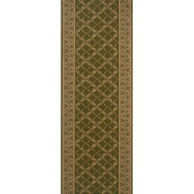 Sangrur Green Area Rug Rug Size: Runner 27 x 12