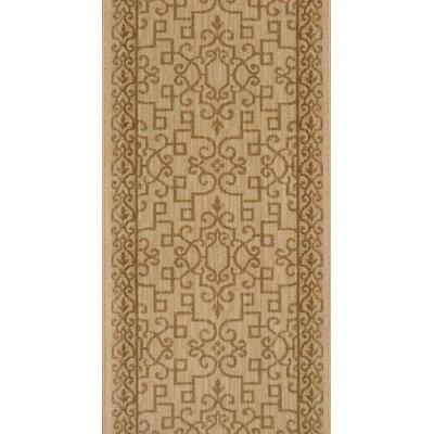 Sankarankovil Beige Area Rug Rug Size: Runner 22 x 8