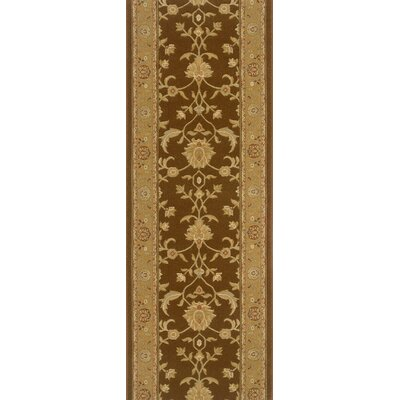 Sankari Brown Area Rug Rug Size: Runner 27 x 12