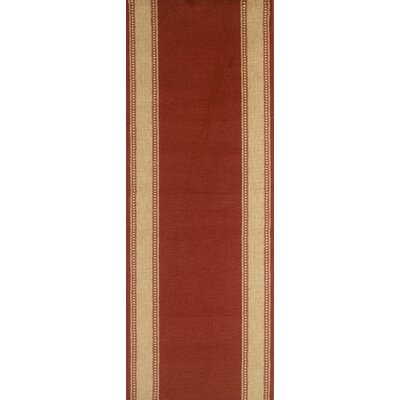 Sarangpur Red Area Rug Rug Size: Runner 27 x 12