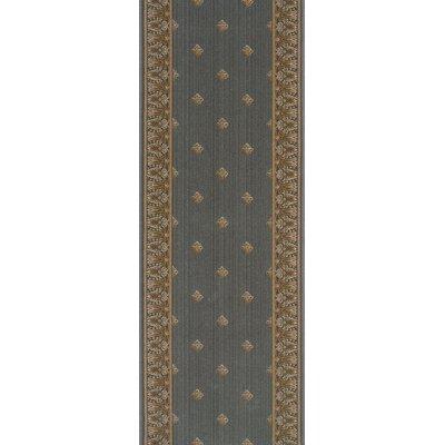 Sardhana Gray Area Rug Rug Size: Runner 27 x 8