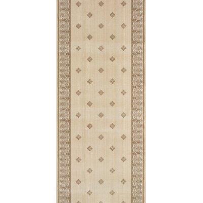 Sarni Beige Area Rug Rug Size: Runner 27 x 8