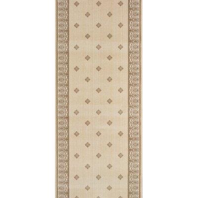 Sarni Beige Area Rug Rug Size: Runner 27 x 15
