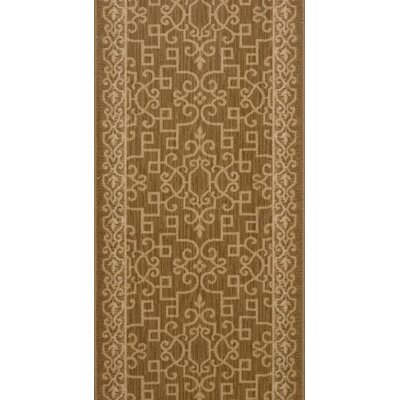 Satana Brown Area Rug Rug Size: Runner 27 x 12