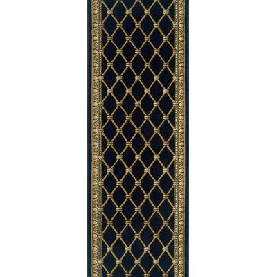 Sattenapalle Black Area Rug Rug Size: Runner 27 x 8