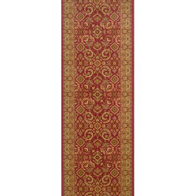 Saundatti Mulberry Area Rug Rug Size: Runner 27 x 10