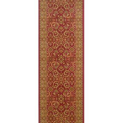 Saundatti Mulberry Area Rug Rug Size: Runner 22 x 10
