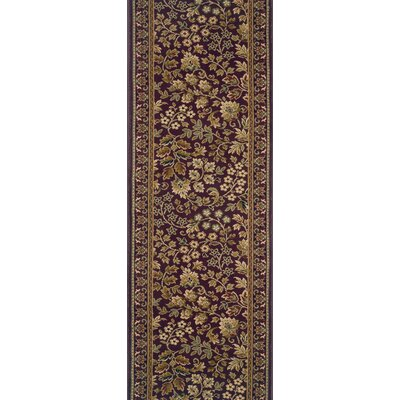 Savanur Purple Area Rug Rug Size: Runner 22 x 15
