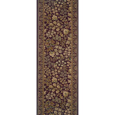 Savanur Purple Area Rug Rug Size: Runner 27 x 6