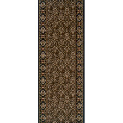 Shahbad Brown Area Rug Rug Size: Runner 27 x 6