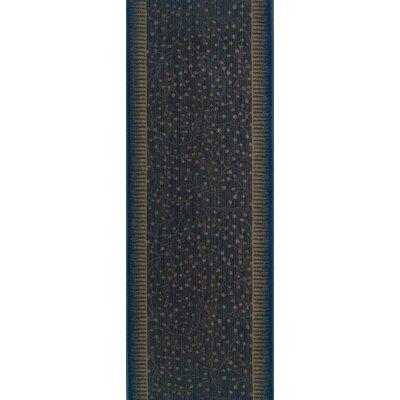 Shahdol Blue Area Rug Rug Size: Runner 27 x 6