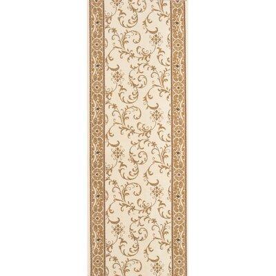 Shendurjana Ivory Area Rug Rug Size: Runner 27 x 15