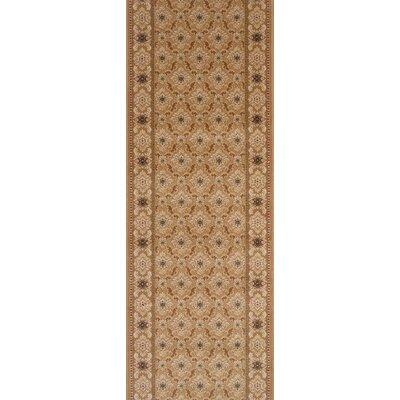 Sheohar Brown Area Rug Rug Size: Runner 27 x 6