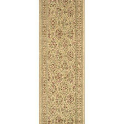 Sheopur Cream Area Rug Rug Size: Runner 27 x 12