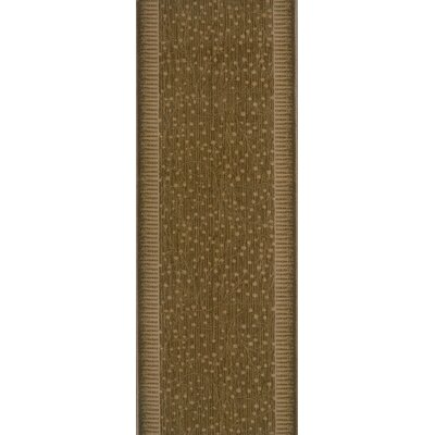 Shiggaon Brown Area Rug Rug Size: Runner 27 x 10