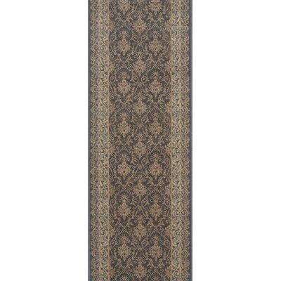 Bulandshahr Grey Area Rug Rug Size: Runner 22 x 8