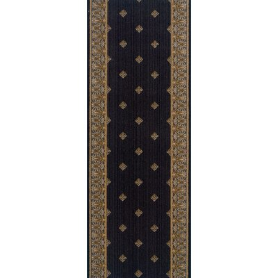 Warwade Charcoal Area Rug Rug Size: Runner 27 x 10