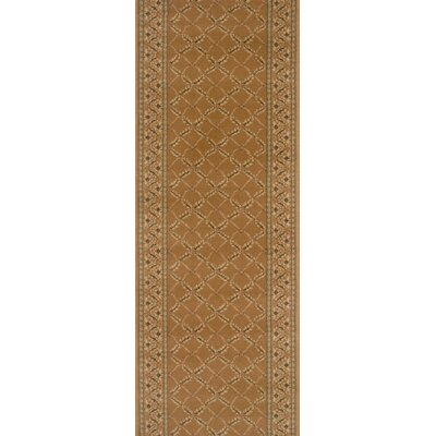 Shirur Brown Area Rug Rug Size: Runner 27 x 15
