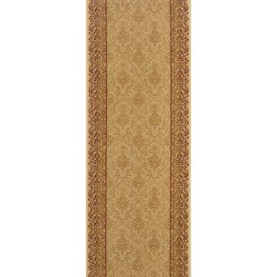Sholavandan Gold Area Rug Rug Size: Runner 22 x 10