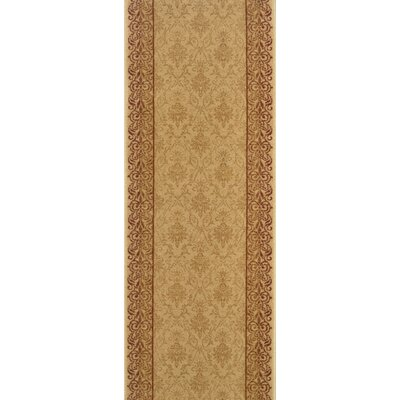 Sholavandan Gold Area Rug Rug Size: Runner 22 x 8