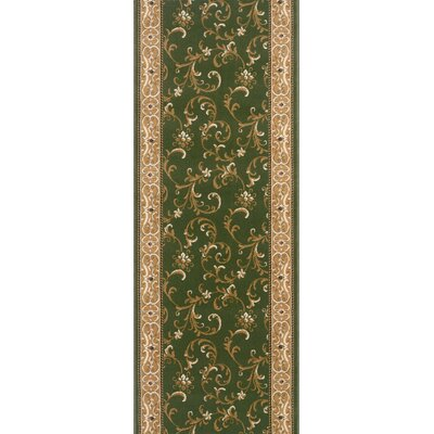 Shoranur Green Area Rug Rug Size: Runner 27 x 15