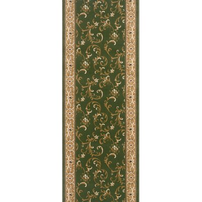 Shoranur Green Area Rug Rug Size: Runner 27 x 8