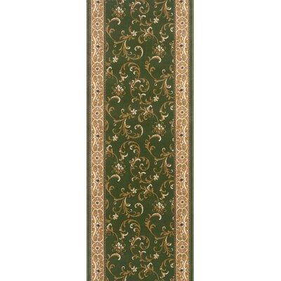 Shoranur Green Area Rug Rug Size: Runner 27 x 8