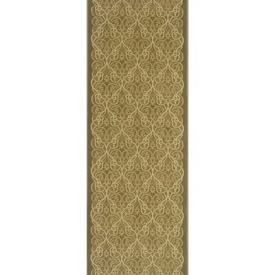 Surapura Beige Area Rug Rug Size: Runner 22 x 15