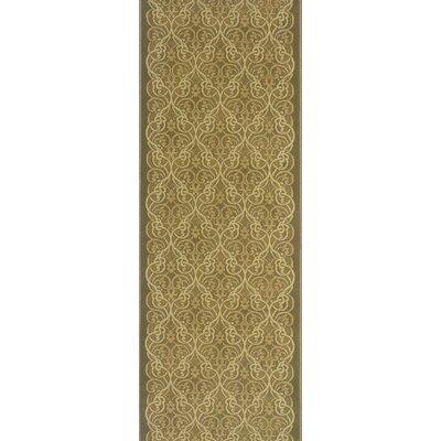Surapura Beige Area Rug Rug Size: Runner 27 x 8