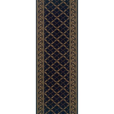 Shrigonda Black Area Rug Rug Size: Runner 27 x 6