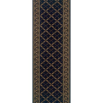 Shrigonda Black Area Rug Rug Size: Runner 27 x 8