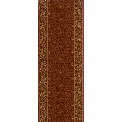 Siana Red Area Rug Rug Size: Runner 27 x 10
