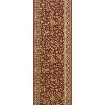 Sibsagar Red Area Rug Rug Size: Runner 22 x 10