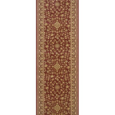 Sibsagar Red Area Rug Rug Size: Runner 27 x 12
