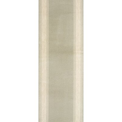 Sidhi Green Area Rug Rug Size: Runner 27 x 12