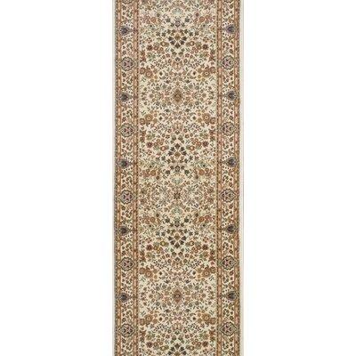 Sidhpur Ivory Area Rug Rug Size: Runner 27 x 12