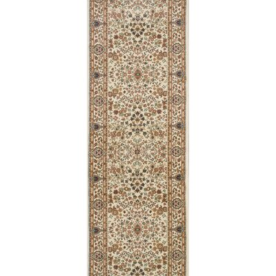 Sidhpur Ivory Area Rug Rug Size: Runner 27 x 8