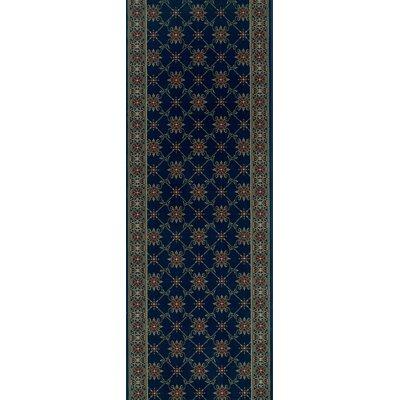 Sidlaghatta Blue Area Rug Rug Size: Runner 22 x 15