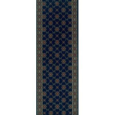 Sidlaghatta Blue Area Rug Rug Size: Runner 27 x 15
