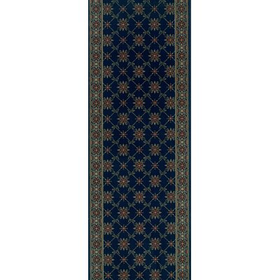 Sidlaghatta Blue Area Rug Rug Size: Runner 27 x 8