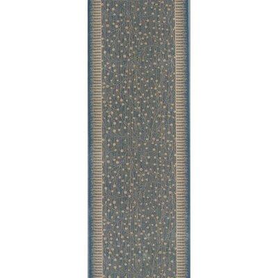 Sihora Blue Area Rug Rug Size: Runner 22 x 12