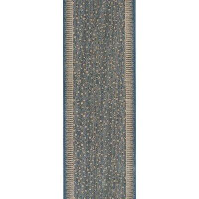 Sihora Blue Area Rug Rug Size: Runner 22 x 15