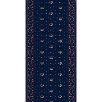 Rao Blue Area Rug Rug Size: Runner 27 x 8