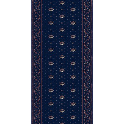 Rao Blue Area Rug Rug Size: Runner 27 x 12