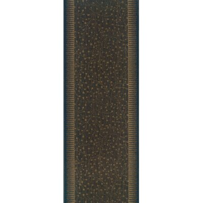 Silao Brown Area Rug Rug Size: Runner 27 x 12