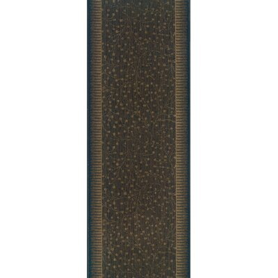 Silao Brown Area Rug Rug Size: Runner 27 x 15