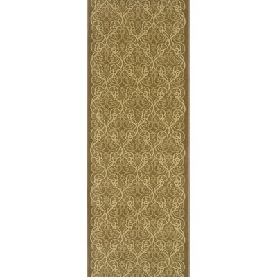 Silapathar Brown Area Rug Rug Size: Runner 27 x 12