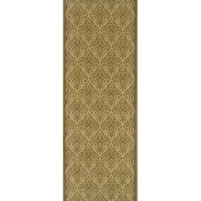 Silapathar Brown Area Rug Rug Size: Runner 27 x 15